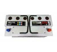 Автомобильный аккумулятор  Titan 100 Ач 353x175x190