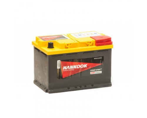 Аккумулятор Hankook Start-Stop Plus AGM 70 А.ч (SA 57020)