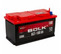 Автомобильные аккумуляторы BOLK 100 А/ч прямая L+ EN750 А 353x175x190 AB 1001 Прямая полярность Евро