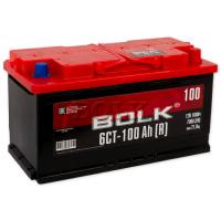 Автомобильные аккумуляторы BOLK 100 А/ч ОБР 353x175x190 EN750 BOLK AB 1000 Обратная полярность Евро