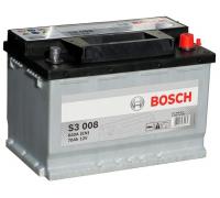 Автомобильные аккумуляторы  BOSCH Silver 70 А/ч 570 409 064 обратная R+ EN 640A 278x175x190 S3 008 0 092 S30 080 Обратная полярность Евро