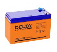 Автомобильные аккумуляторы  DELTA Battery AGM 9 А/ч прямая L+ EN135 А 150x86x108 YTX9-BS CT 1209 Прямая полярность