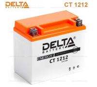 Автомобильные аккумуляторы DELTA Battery AGM 12 А/ч прямая L+ EN180 А 150x86x131 YTX14-BS CT 1212 Прямая полярность