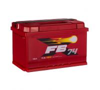 Автомобильные аккумуляторы FB 74 А/ч ОБР 277х175х175 EN740 низкий FB 6СТ-74VLR LB Обратная полярность