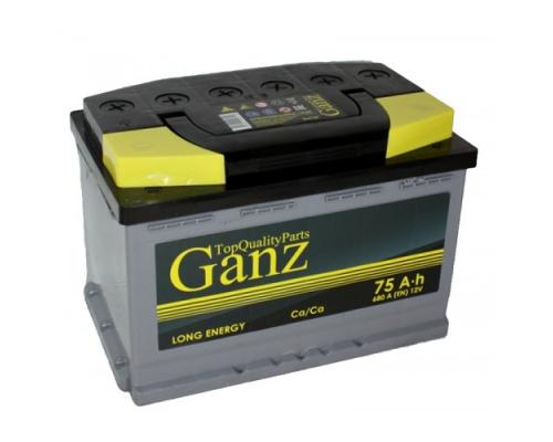 GANZ 75Ач EN680