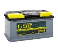 Автомобильные аккумуляторы GANZ ASIA 100 А/ч Обратная EN830 А 304x173x220 GAA1000 Обратная полярность
