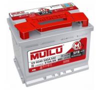 Автомобильные аккумуляторы MUTLU SFB 60 А/ч 560 138 052 прямая L+ EN 540A 242x175x190 L2.60.054.B Прямая полярность