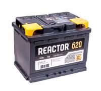 Автомобильные аккумуляторы REACTOR 62 А/ч обратная R+ EN 620A 242x175x190 6CT-62.0 Обратная полярность