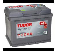 Автомобильные аккумуляторы TUDOR High-Tech 64 А/ч обратная R+ EN 640A 242x175x190 TA640 TA640 Обратная полярность