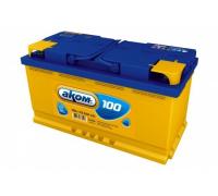 Автомобильные аккумуляторы АКОМ 100 А/ч обратная R+ EN 850A 353x175x190 6CT-100.0 LA Обратная полярность Евро