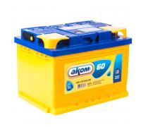 Автомобильные аккумуляторы АКОМ LB 60 А/ч обратная R+ EN 590A 242x175x175 6CT-60.0 LB Обратная полярность Евро