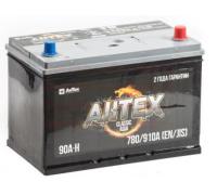 Автомобильные аккумуляторы АКТЕХ ASIA 90 А/ч обратная R+ EN 780A 306x173x223 ATSTA 90-3-R Обратная полярность Азия
