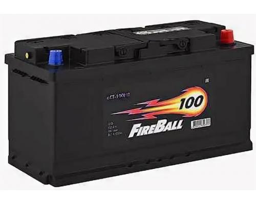 Автомобильные аккумуляторы FIRE BALL 100Ач EN800А о.п. (353х175х190, B13) 100NR Обратная полярность