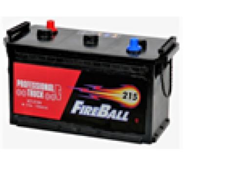 Автомобильные  грузовые аккумуляторы FIRE BALL 215Ач EN1120А п.п. (425х170х240, B00, ПК) 215N Прямая полярность