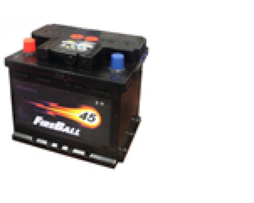 Автомобильные аккумуляторы FIRE BALL 45Ач EN330А п.п. (212х175х190, B13) 45N Прямая полярность