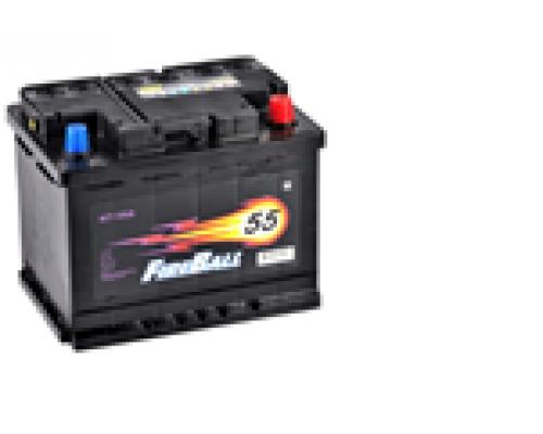 Автомобильные аккумуляторы FIRE BALL 55Ач EN430А о.п. (242х175х190, B13) 55NR Обратная полярность