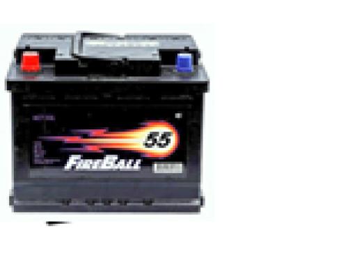 Автомобильные аккумуляторы FIRE BALL 55Ач EN430А п.п. (242х175х190, B13) 55N Прямая полярность