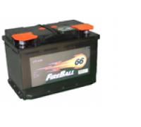 Автомобильные аккумуляторы FIRE BALL 66Ач EN510А о.п. (277х175х190, B13) 66NR Обратная полярность