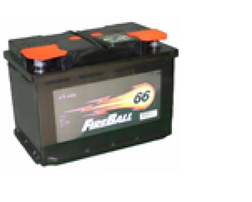 Автомобильные аккумуляторы FIRE BALL 66Ач EN510А п.п. (277х175х190, B13) 66N Прямая полярность