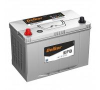 Автомобильные аккумуляторы DELKOR EFB 145D31 90Ач EN820А о.п. (302х172х200) Обратная полярность