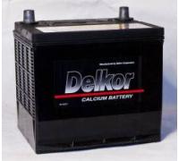 Автомобильные аккумуляторы DELKOR (JP) 50D20L (50) 60Ач EN525А о.п. (200х172х200) Обратная полярность