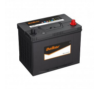 Автомобильные аккумуляторы DELKOR 80D26 (75) 75Ач EN580А о.п. (260х172х203) Обратная полярность