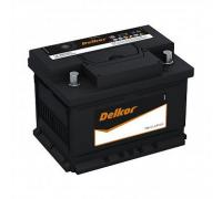 Автомобильные аккумуляторы DELKOR Euro 60.0 L2 (56030, 31) 60 Ач EN525А о.п. (242х175х190) Обратная полярность