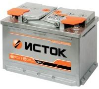 Автомобильные аккумуляторы ИСТОК 55 А/ч Прямая EN480 А 242x175x190 6CT-55N Прямая полярность Евро