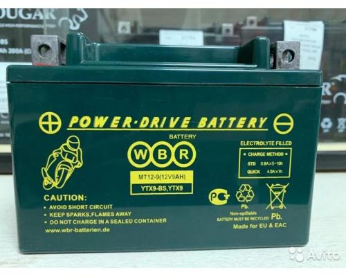 Мото аккумулятор MT12-9
