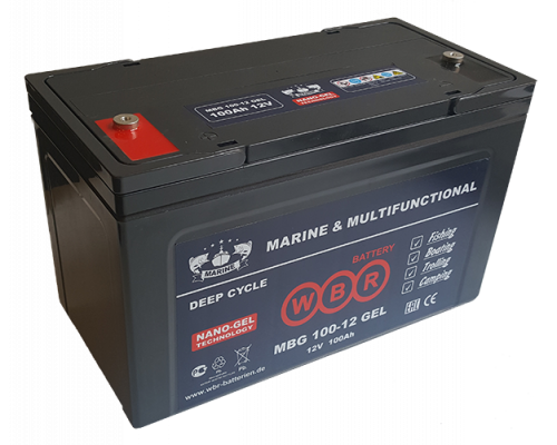 Аккумулятор для лодок WBR MBG 100-12