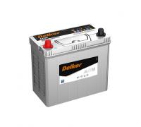 Автомобильные аккумуляторы DELKOR AGM 46B24 45Ач EN370А о.п. (237х127х205) Обратная полярность