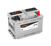 Автомобильные аккумуляторы DELKOR AGM LN3 70.0 обр 70Ач EN760А о.п. (278х175х190) Обратная полярность