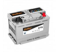 Автомобильные аккумуляторы DELKOR AGM LN4 80.0 обр 80 Ач EN800А о.п. (315х175х190) Обратная полярность