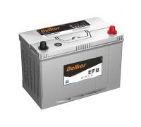 Автомобильные аккумуляторы DELKOR EFB 130D26L 80Ач EN720А о.п. (260х172х200) Обратная полярность