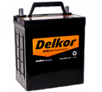 Автомобильные аккумуляторы DELKOR  46B19 40Ач EN370А о.п. (186х126х202) Обратная полярность