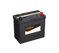 Автомобильные аккумуляторы DELKOR 60B24 45Ач EN430А п.п. (237х128х202) Прямая полярность