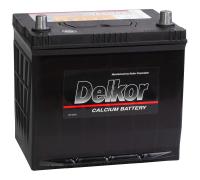 Автомобильные аккумуляторы DELKOR 75D23 65Ач EN520А о.п. (229х172х203) Обратная полярность
