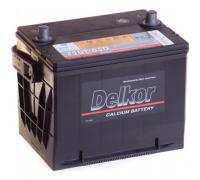 Автомобильные аккумуляторы DELKOR 75DT-650 DUAL 65Ач EN650А п.п. (239х179х186) Прямая полярность