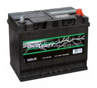 Автомобильные аккумуляторы GIGAWATT 68Ач EN570А о.п. (278х175х175, B13) G68R / 568 403 057 Обратная полярность Евро