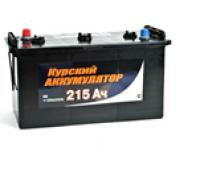 Автомобильный грузовой Курский аккумулятор 215Ач EN1250А п.п. (425х170х240, B00, ПК) 215N