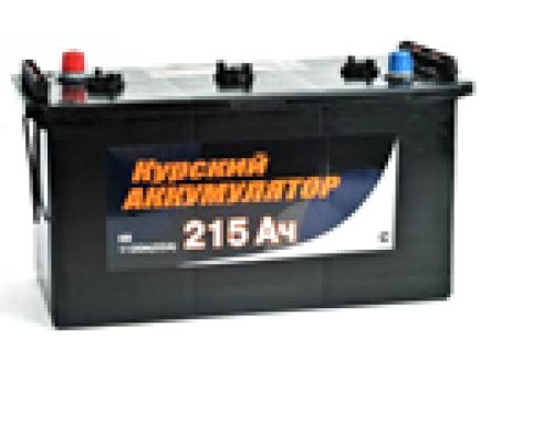 Автомобильный грузовой аккумулятор  Курский 215 Ач