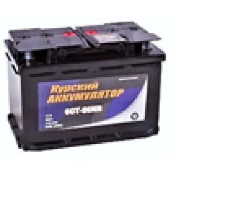 Автомобильный аккумулятор  Курский 66 Ач Обратная полярность