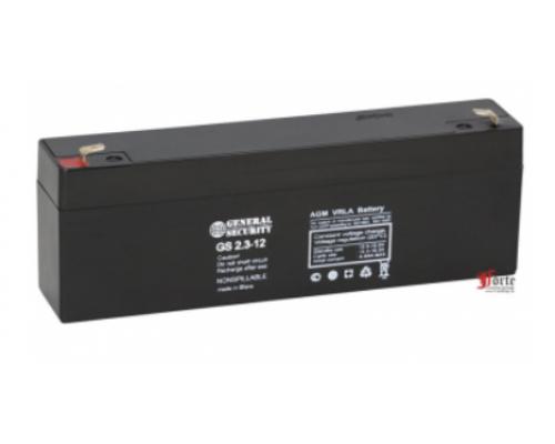 Аккумулятор свинцово-кислотный, 12В 2,3  А/ч