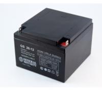 Аккумулятор для USB 12В 26 А/ч GS (166 x 175 x 125)