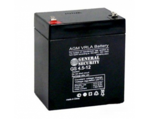 Аккумулятор 6В 4.5 А/ч  GS