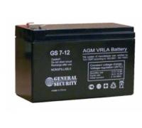 Аккумулятор для USB 12В 7,2 А/ч GS