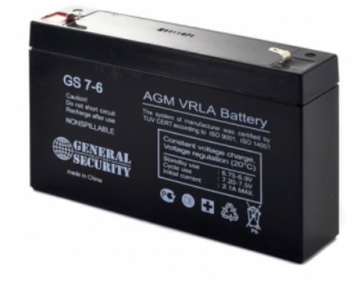 Аккумулятор 6В 7 А/ч для USB