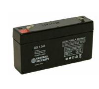 Аккумулятор для USB 6В 1,3 А/ч GS