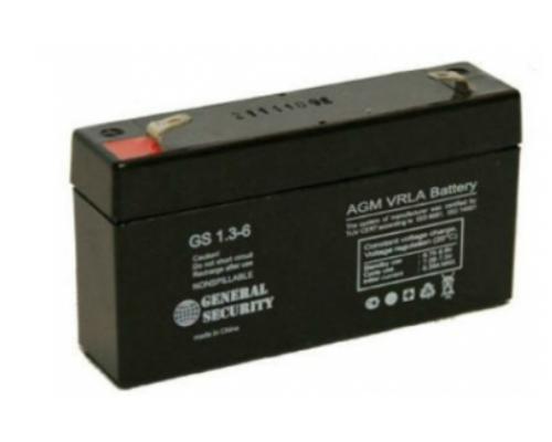 Аккумулятор свинцово-кислотный 6В 1,3 А/ч