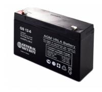 Аккумулятор для USB 6В 12 А/ч GS